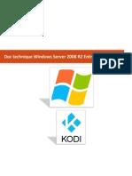 doc technique server 2008 & kodi