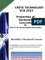 LECT Hardened Concrete