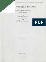 Fulda H.-F. - Zum Theorietypus der Hegelschen Rechtsphilosophie 1982