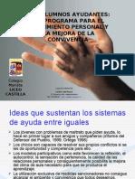 Presentación Alumno ayudante al profesorado_ Liceo Castilla