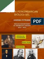 Sejarah Perkembangan Biologi Sel