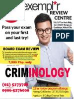 Criminology Proposal