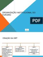 Organização Institucional Do Turismo