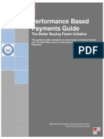 Performance Based Payment (PBP) Guide