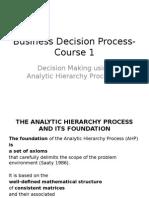 Curs 1 Business Decision Processes