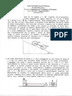 Compiti di fisicafisica 1 Prof. Battaglia - Fisica 1 - Ingegneria  Ambiente e Territorio