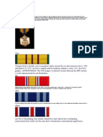 af awards and decorations
