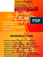 Isb 544 (Islamic Economics) Presentation 1