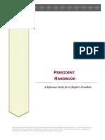 President Handbook