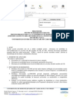 Program PostDoctoral si Doctoral