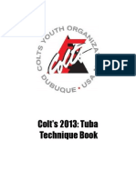 Colts Tuba Tech Book