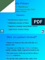 Binary Pulsars