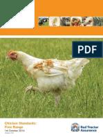 Poultry Scheme - Free Range Standards