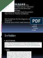 Heart Failure AHA ESC