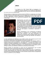 Biografia (Corrado Malanga Espanol)