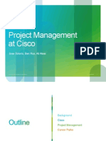 Project Management at Cisco Systems-2