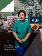 DB Interim Report 3Q2014