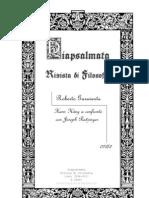 Hans Küng a confronto con Joseph Ratzinger (Roberto Garaventa)