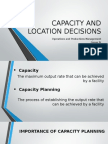 Capacity and Location Decisions_opm
