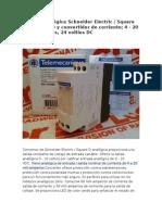 Tensión Analógica Schneider Electric RMCN22BD