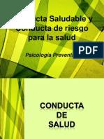 Conducta Saludable y Conducta de riesgo para la.pdf