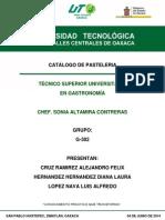 Catalogo de Pasteleria