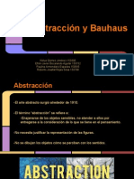 Abstraccion y Bauhaus