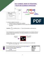 algebra regents content review packet