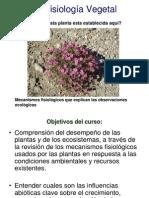 Clase Ecofisiologia