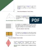 Areas de Figuras Geometricas