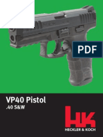 Heckler & Koch VP40 Pistol in .40 S&W