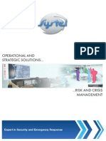 Brochure en Risk Crisis Management