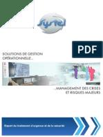 Brochure FR Management Risque Crise