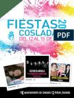 Programa Fiestas Coslada 2015