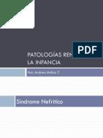 Patologías Renales en La Infancia