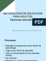 Sesiones Educativas