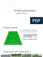 Football Field Requirments