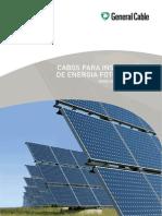 Exzhellent Solar_Cabos Para Instalações Fotovoltaicas
