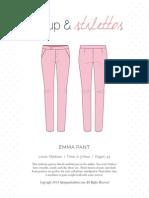 Emma Pant Spit Up Stilettos
