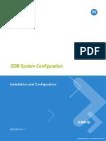 Motorola GSR10 GSM Configurations and RNO