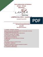 LAMPEA-Doc 2015 – numéro 18 / Vendredi 12 juin 2015