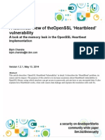 A Technical View of TheOpenSSL Heartbleed Vulnerability