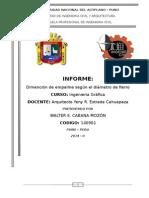 Informe Empalme