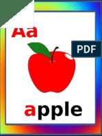 Alphabets Flash Cards