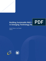Building Sustainable R&D Centers in Emerging Technology Regions