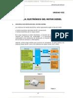 Manual Control Electronico Motor Diesel Sensores Funciones Controladas Ecu