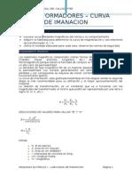 Lab - Curva de Imanacion Transformadores