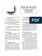 2015 House Notes Wrap Up Bf Vetoes