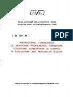 Prescriptie Energetica 3E-I 214-96