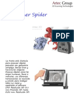 Presentcion Artec Spider